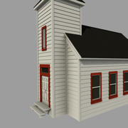 country chapel 3d model
