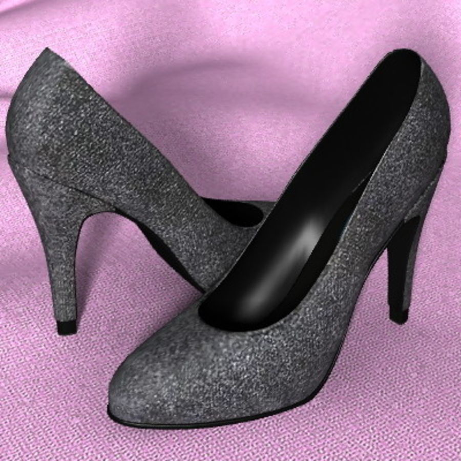Shoe_05.zip royalty-free 3d model - Preview no. 1