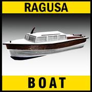 Boat Traditional Mediter. 3d model