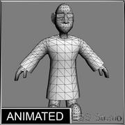 Scientist Animated 3d model