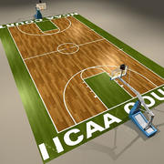 Basketball Court Official 2 3d model