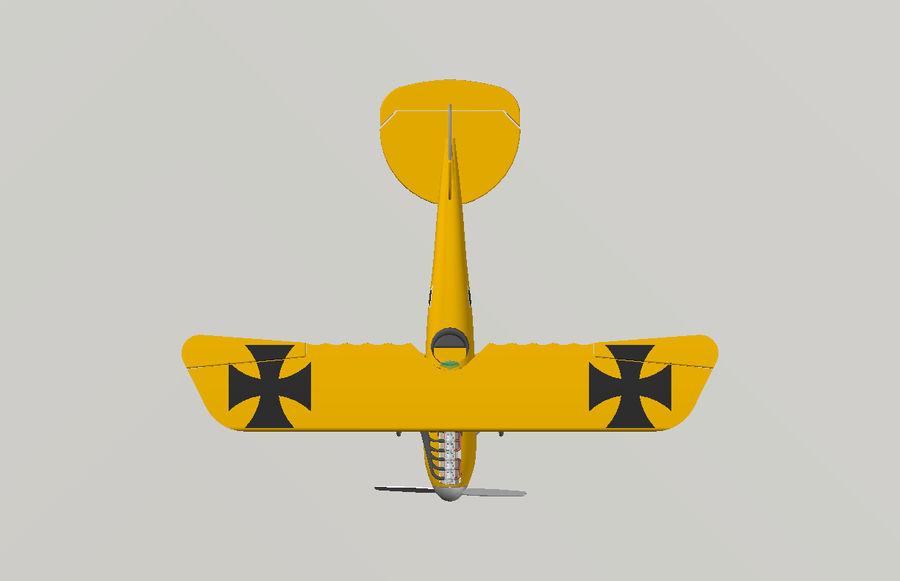 albatros diii.dwg royalty-free 3d model - Preview no. 6
