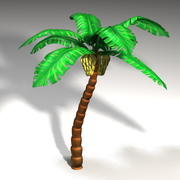 바나나 나무 3d model