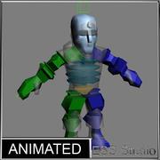 Dwarf-Discoverer Animated 3d model
