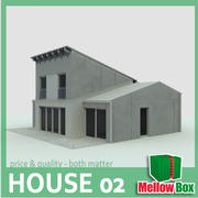 single family house 02 3d model