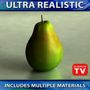Päronfrukt 01 3d model