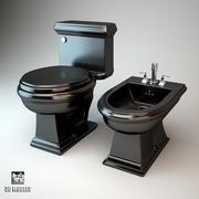 Black Sanitary Engineering 3d model