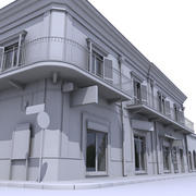 Building 001 Untextured 3d model