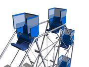 Playground Item 06 (Wheel) 3d model