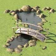Pond 3d model