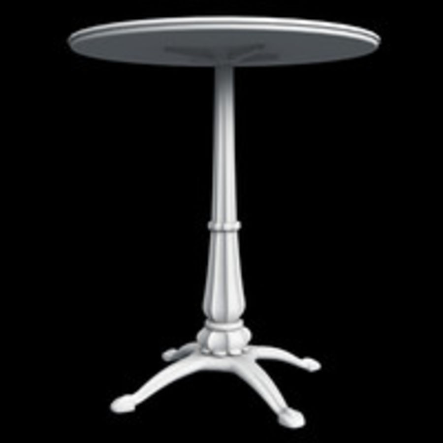 Coffee table royalty-free 3d model - Preview no. 4