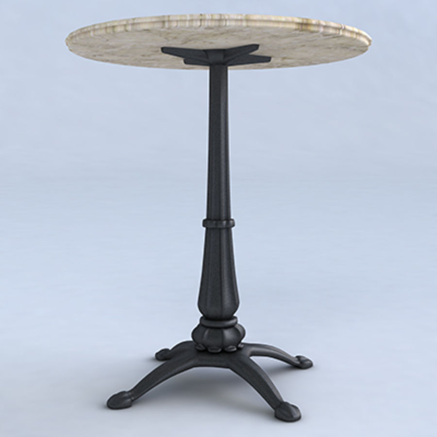 Coffee table royalty-free 3d model - Preview no. 2