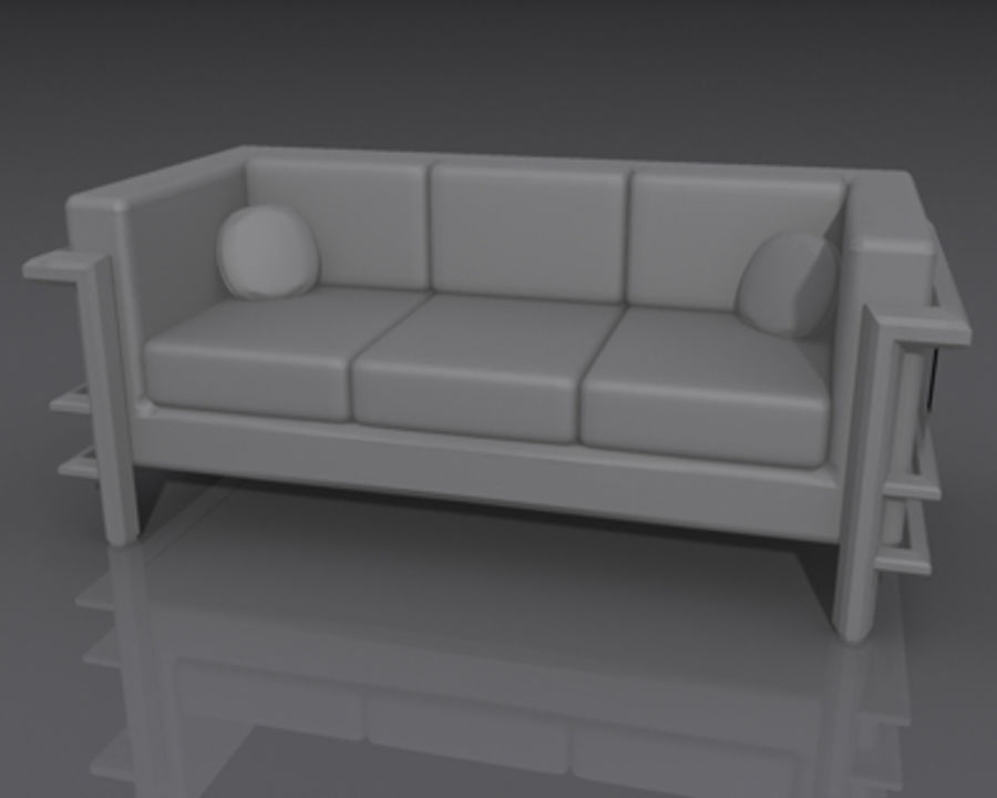 DR Couch 1.max royalty-free 3d model - Preview no. 6