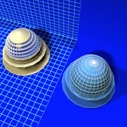 Dome Complex 080307 01 3d model