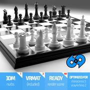 G69 Chessboard Set 3d model