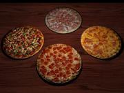 4pizzas.max 3d model