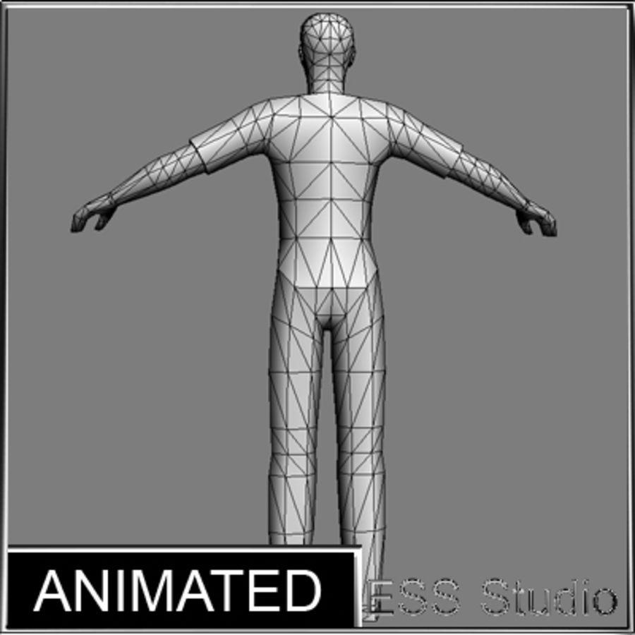 Urban Man royalty-free 3d model - Preview no. 20