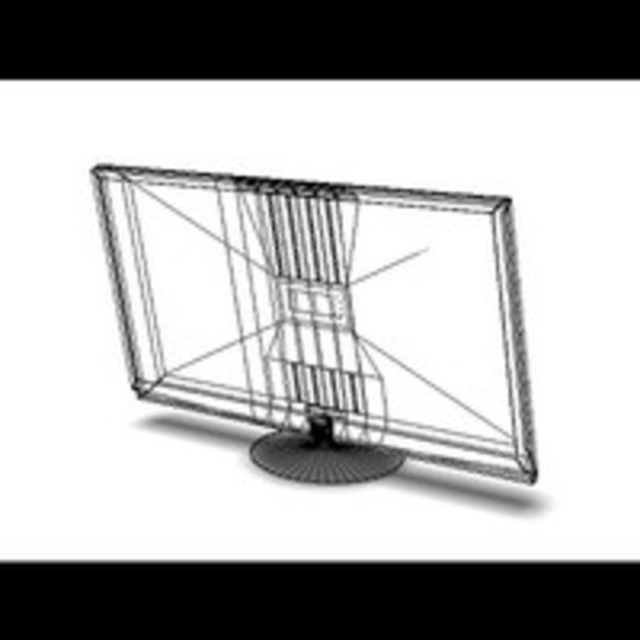 Plasma TV royalty-free 3d model - Preview no. 6
