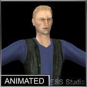 Homem urbano 2 3d model