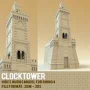 Clocktower 3d model