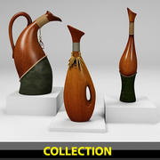 vase Collection 3d model