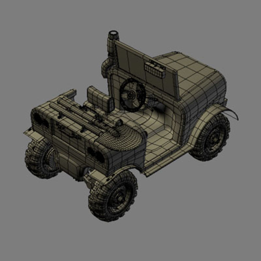 SUV 4x4 royalty-free 3d model - Preview no. 1