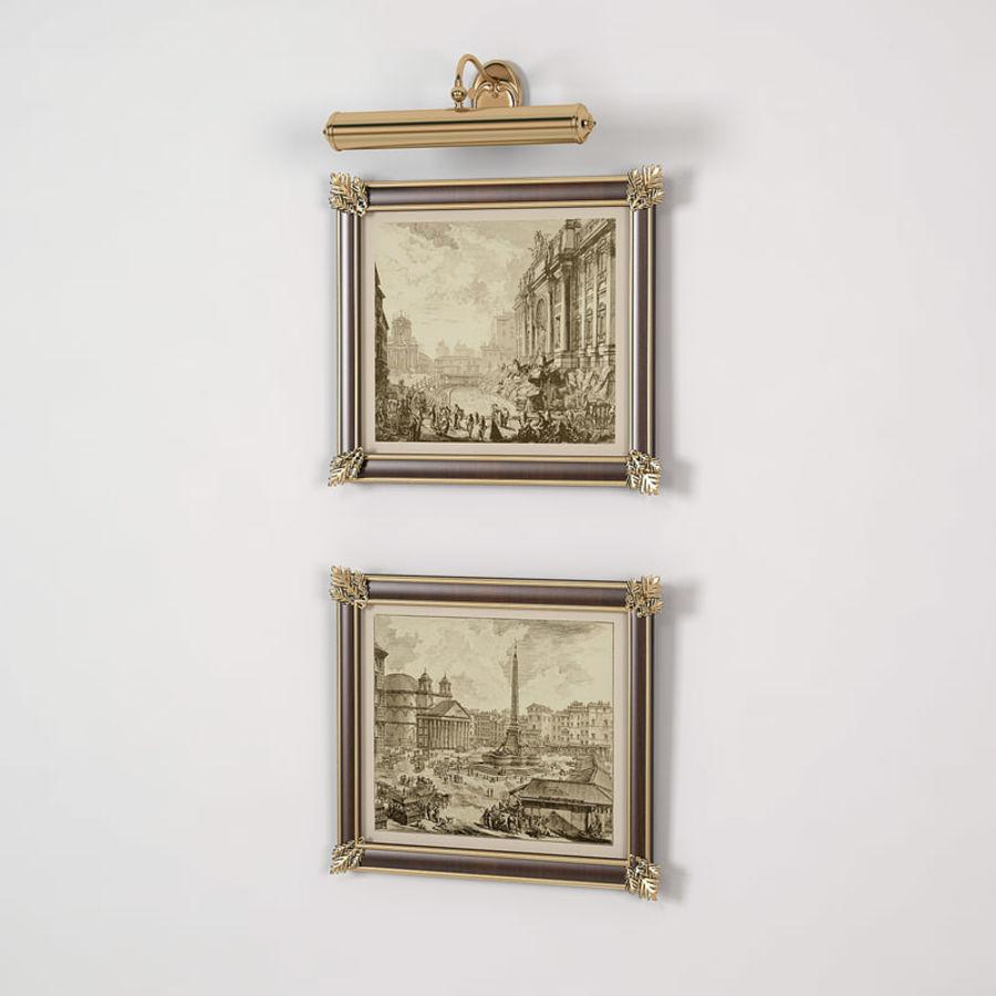 Classic Engraving Frames 3D Model $10 - .obj .fbx .dxf .dwg .max ...