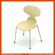 AJ Ant Chair 3101 3d model