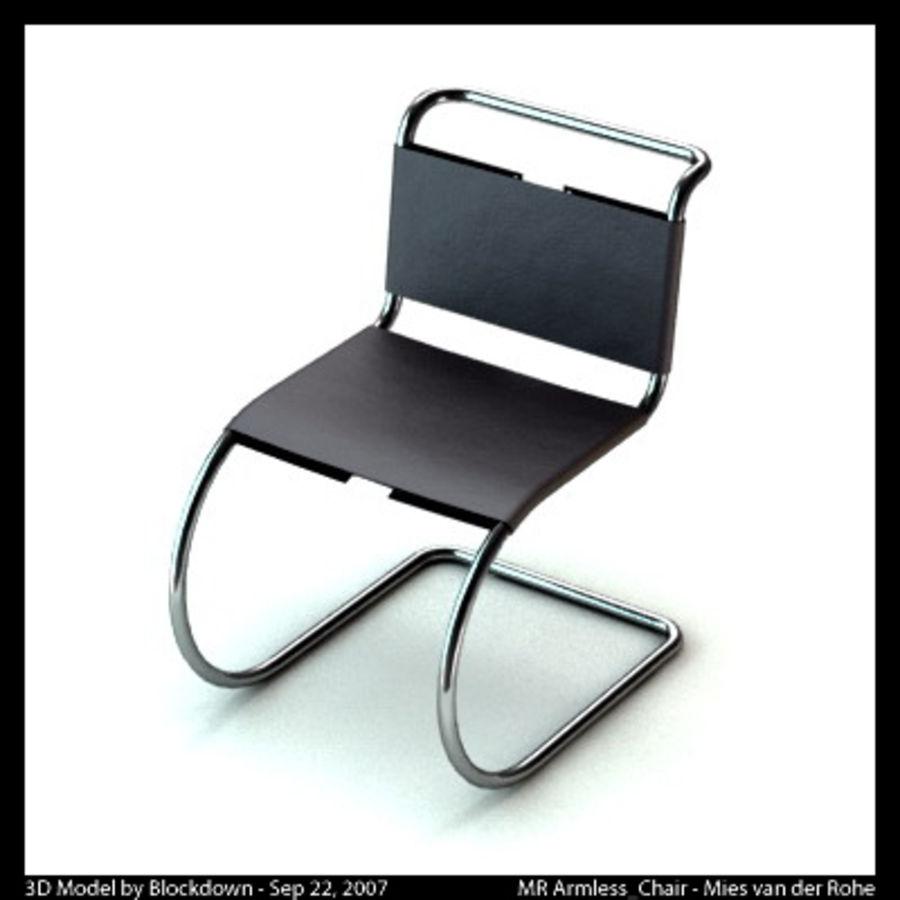 MR Kolsuz Sandalye royalty-free 3d model - Preview no. 1