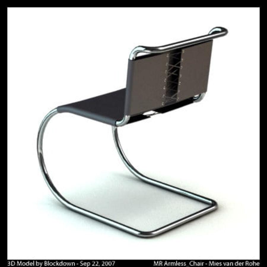 MR Kolsuz Sandalye royalty-free 3d model - Preview no. 4