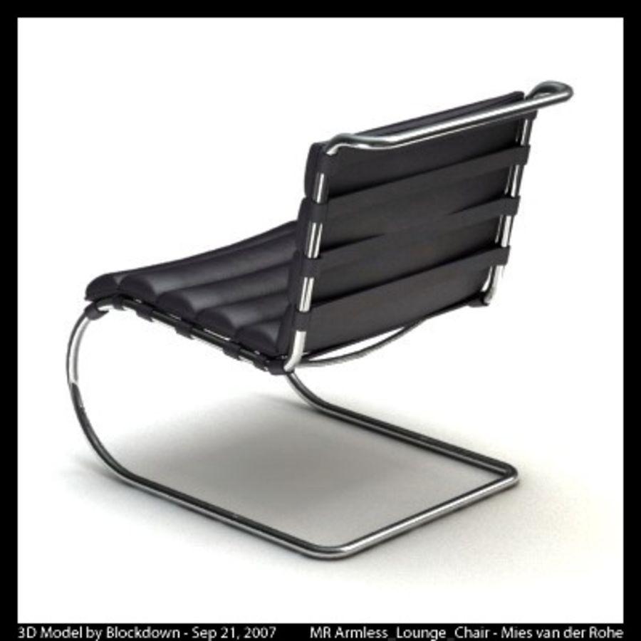 MR Kolsuz Şezlong royalty-free 3d model - Preview no. 5