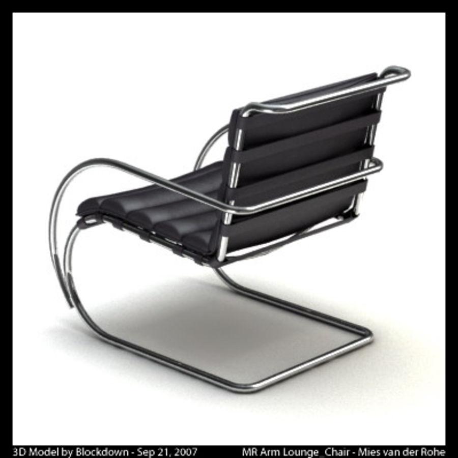 MR 암 라운지 의자 royalty-free 3d model - Preview no. 2