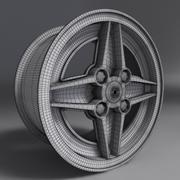 RS Rim Alloy 3d model
