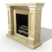 壁炉004 3d model