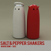 SALT & PEPPER SHAKER design 3d model