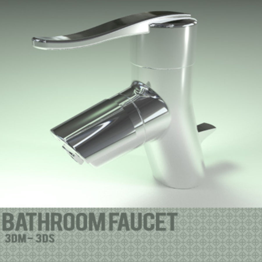 Bathroom Faucet royalty-free 3d model - Preview no. 1