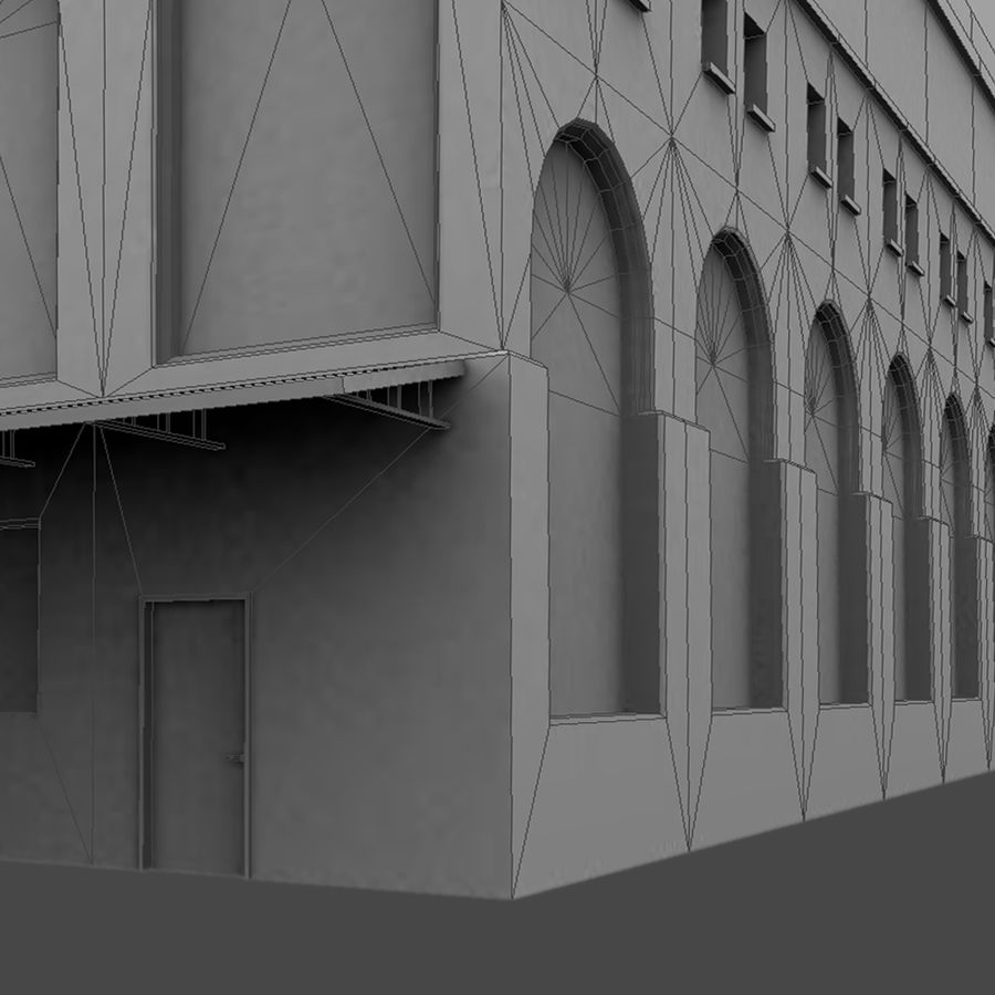 Warehouse royalty-free 3d model - Preview no. 5