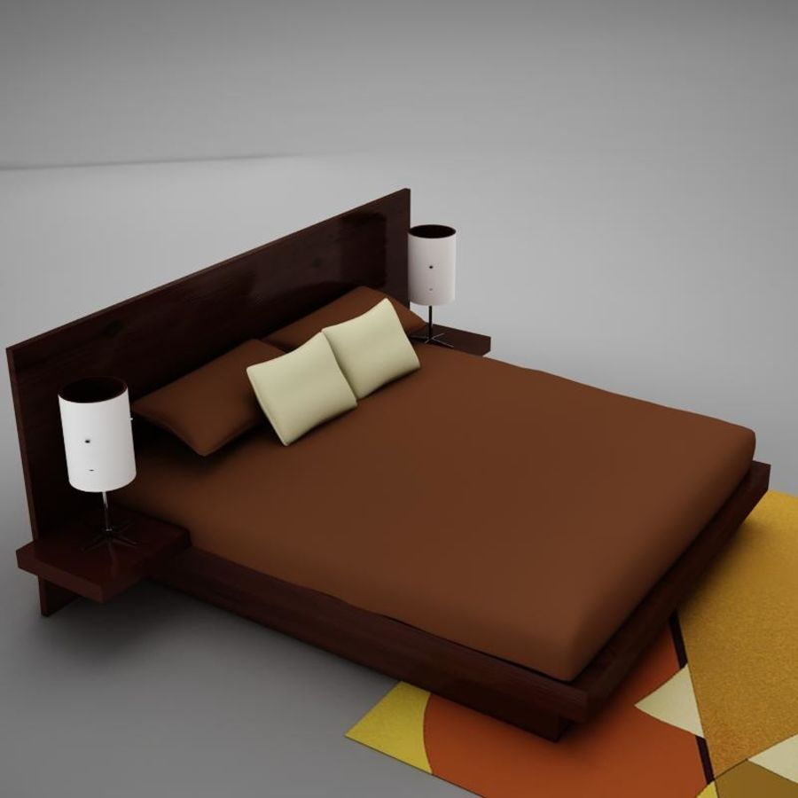 bed04.zip royalty-free 3d model - Preview no. 1
