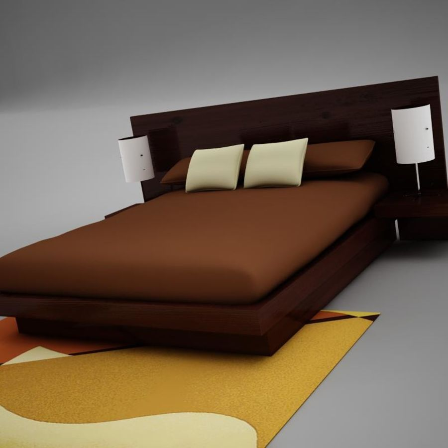 bed04.zip royalty-free 3d model - Preview no. 2
