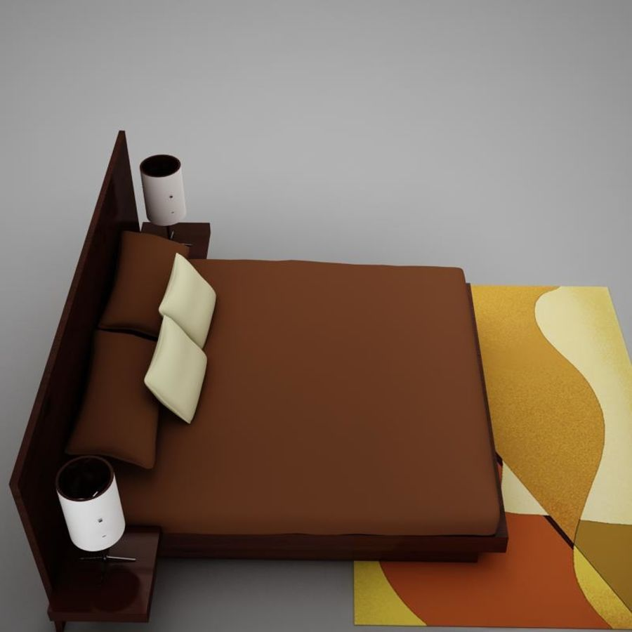 bed04.zip royalty-free 3d model - Preview no. 10