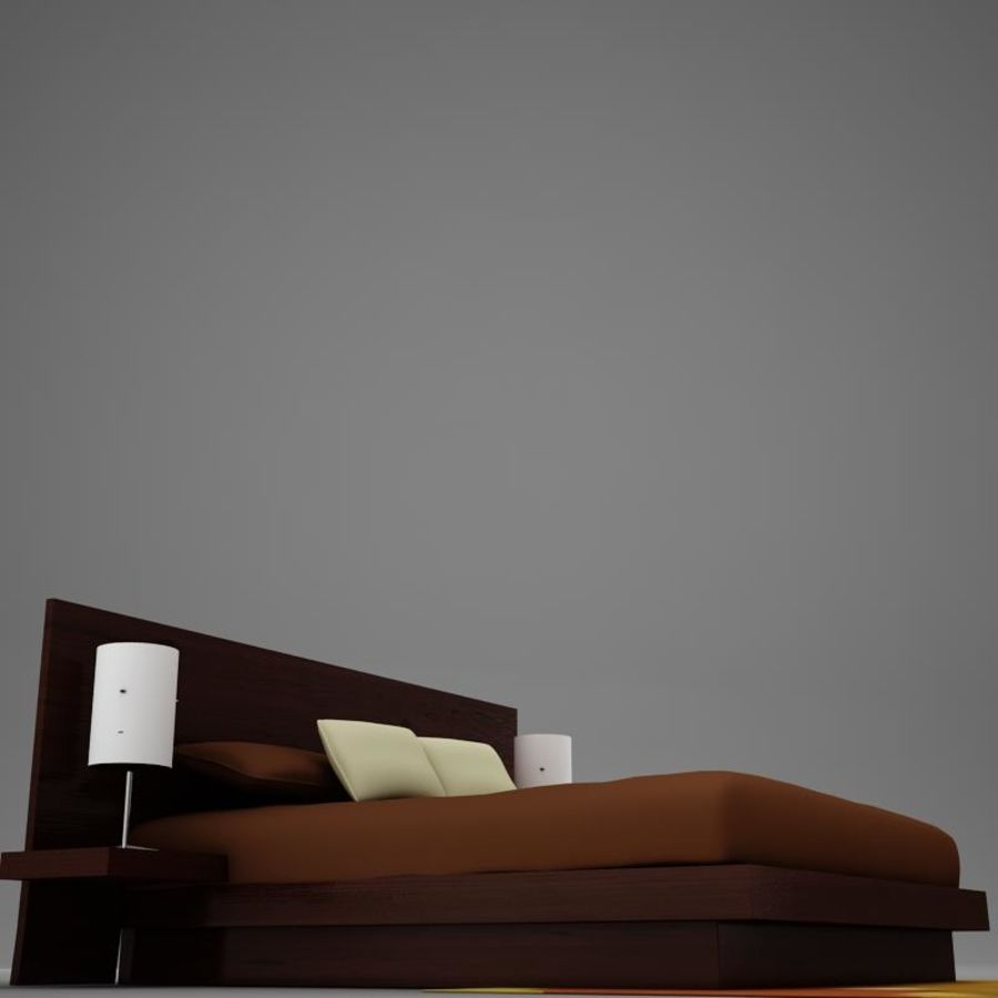 bed04.zip royalty-free 3d model - Preview no. 5