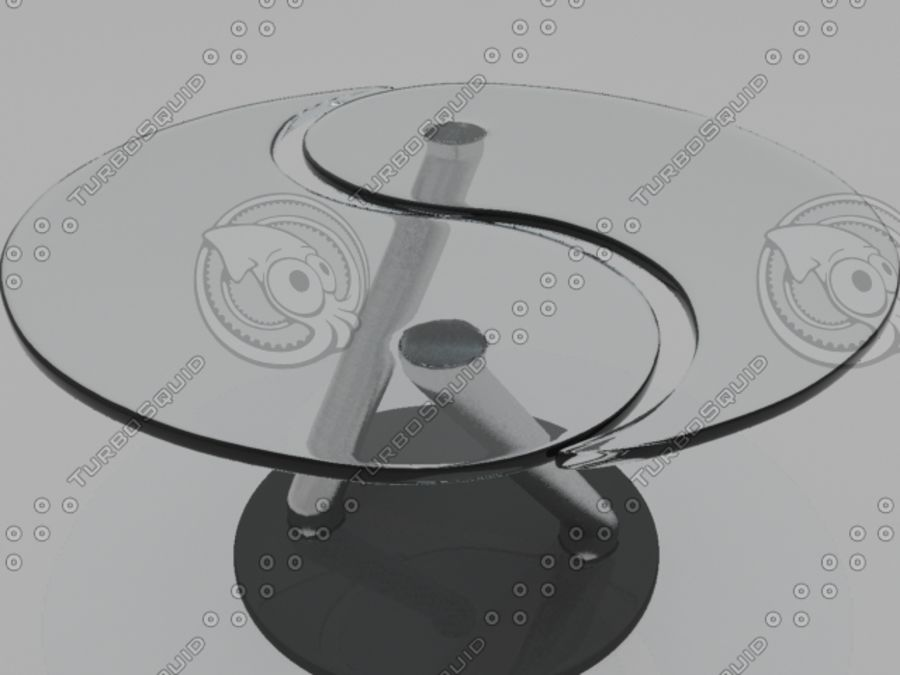 Yen Table.3DS royalty-free 3d model - Preview no. 1