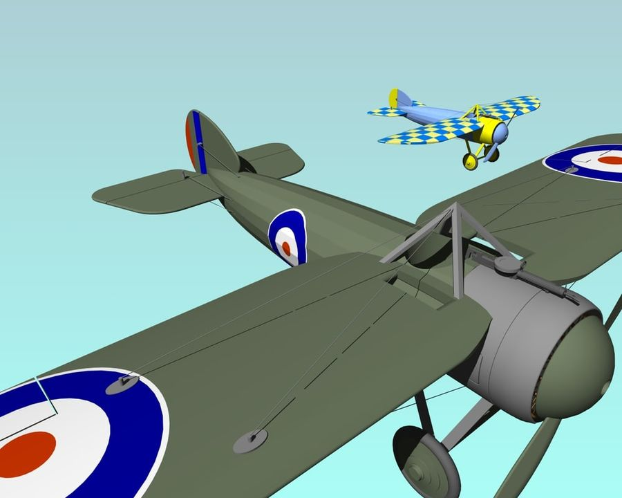 Bristol Bullet.dwg royalty-free 3d model - Preview no. 1