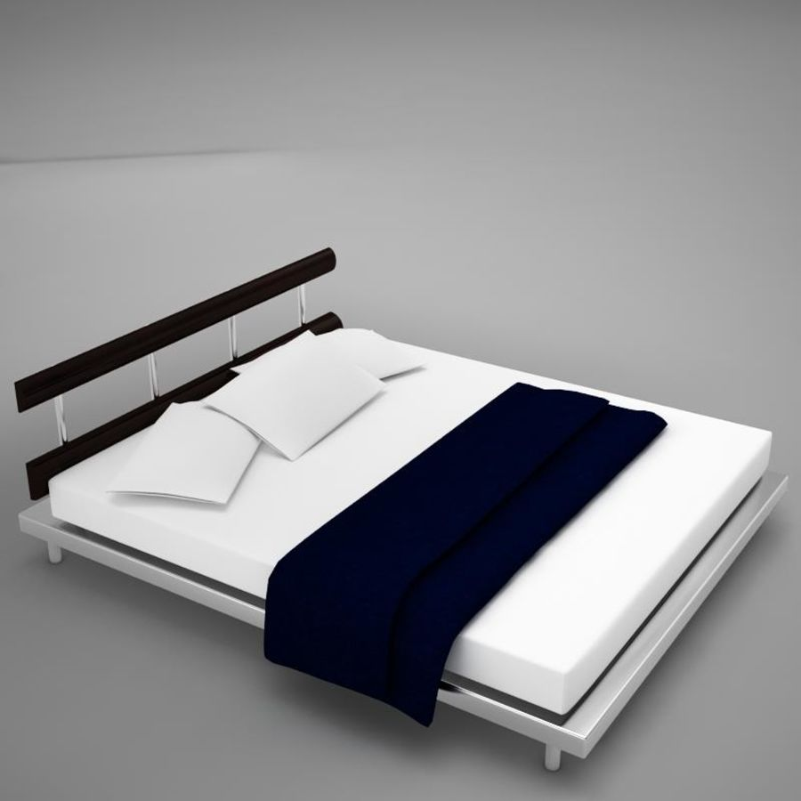 bed 03.zip royalty-free 3d model - Preview no. 6