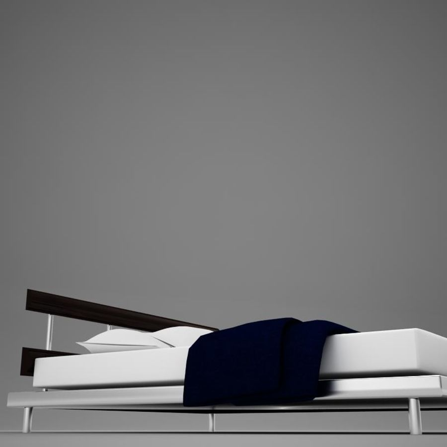 bed 03.zip royalty-free 3d model - Preview no. 10