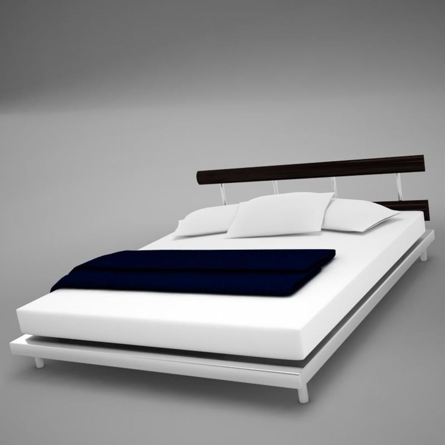 bed 03.zip royalty-free 3d model - Preview no. 8