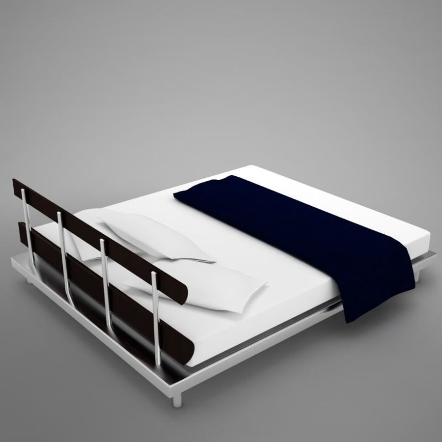 bed 03.zip royalty-free 3d model - Preview no. 9