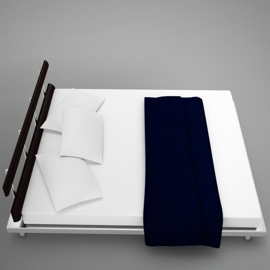bed 03.zip royalty-free 3d model - Preview no. 3
