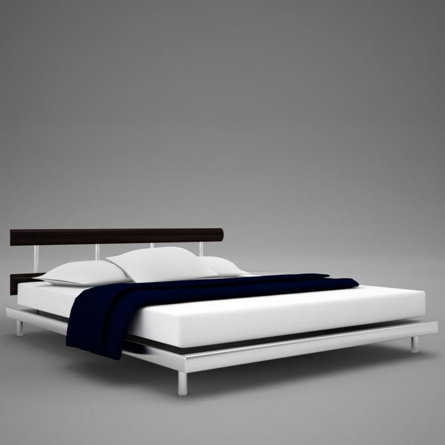 bed 03.zip royalty-free 3d model - Preview no. 1