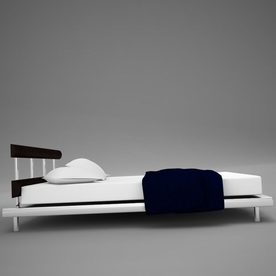 bed 03.zip royalty-free 3d model - Preview no. 4